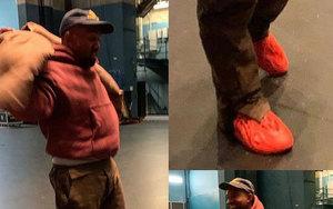 Kanye West 上腳紅色 Yeezy Foam Runner !有沒有想起那雙...