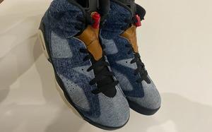 最新實物照曝光!丹寧材質 Air Jordan 6 你會入手嗎?