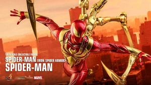 金属色设计质感高级,钢铁蜘蛛侠1/6手办来啦