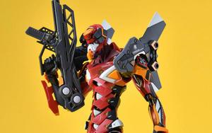 可动设计+多种武器装备!METAL BUILD EVA 2号机近赏
