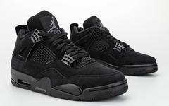 低调冷酷又犀利!Air Jordan 4 黑猫配色明年来袭!