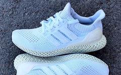 4D系列鞋款又增加一款,Ultra Boost 1.0版本4D来袭