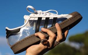 超吸睛透明鞋面!这双 Blondey x adidas Superstar 你敢驾驭吗?