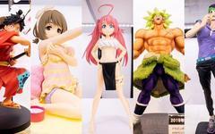 秋叶原展出最新模玩产品,萌妹子和经典动漫角色一应俱全