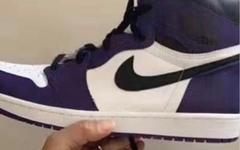 """恶人紫又来了!这双 Air Jordan 1 """"Court Purple"""" 明年发售"""