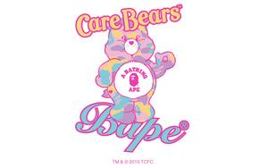 單品超夢幻!BAPE?? 與《Care Bears》打造聯名系列