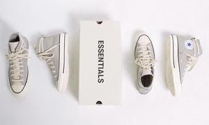 個性的鞋帶繞穿!ESSENTIALS x CONVERSE 聯名 Chuck 70 新配色即將發售