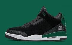 经典黑绿主题!这款 Air Jordan 3 颜值值得期待