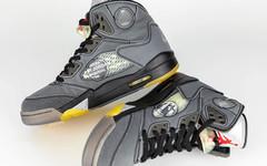復古又沒氧化煩惱!Off-White x Air Jordan 5 設計極其貼心