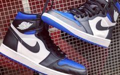 气质相当高级!黑蓝主题 Air Jordan 1 也太好看了叭!