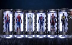 各种战甲一应俱全,Hot Toys 推出《蜘蛛侠》战甲库珍藏套装