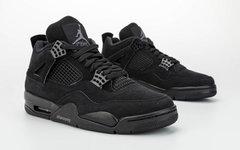 发售日期提前! Air Jordan 4 黑猫配色 1 月回归