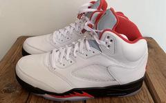 """流川枫配色即将回归!这双 Air Jordan 5 """"Fire Red"""" 不可错过"""