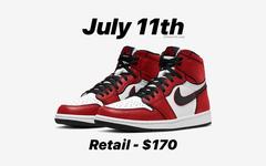 """今年 7 月发售!Air Jordan 1""""Bloodline 2.0"""" 颜值炸裂"""