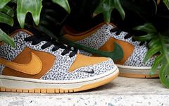 "本周末发售!Nike SB Dunk Low"" Safari"" 规格颇高"