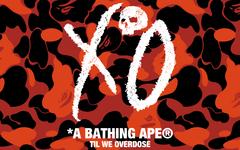 黑红迷彩图案!BAPE® 与 The Weeknd 个人品牌 XO 再度推出联名系列