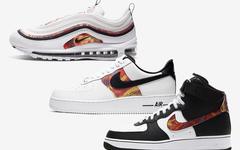 炫彩图案+半圆形 Nike logo !这三双 Nike 经典鞋型新配色有点意思