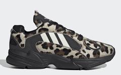 豹纹鞋面相当狂野!adidas Yung-1 新配色即将发售