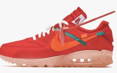 """the ten""系列风格!Off-White x Nike Air Max 90 新配色今年登场?"