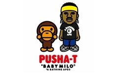 携手人气歌手 Pusha-T ! A BATHING APE® 将推出全新联名