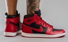 """入手难度极高!""""反转黑红"""" Air Jordan 1 最新上脚美照释出"""
