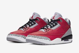 视觉效果相当高调,Air Jordan 3 红水泥全明星期间发售