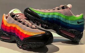 每一面各不相同! size? x Nike Air Max 95 曝光