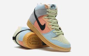 """""""復活節彩蛋""""配色!這雙 Nike SB Dunk High 顏值不俗"""