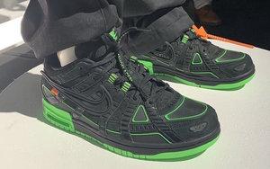 Off-White x Nike 神秘新作曝光!黑綠配色你覺得如何?