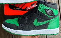 本月月底发售!黑绿 Air Jordan 1 最新实物美照释出