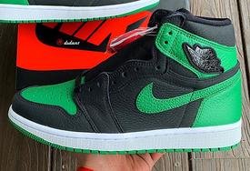 本月月底發售!黑綠 Air Jordan 1 最新實物美照釋出