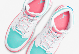 適合小姐姐上腳!這款 Air Jordan 1 Mid 有點甜