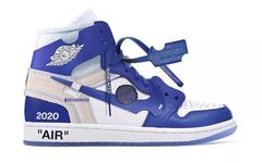 神秘的蓝色防盗扣!Off White 与 Nike 又有新作?