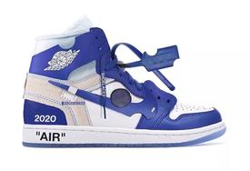 神秘的藍色防盜扣!Off White 與 Nike 又有新作?