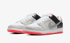 抢眼红外线 Nike Dunk SB Low !本周正式发售