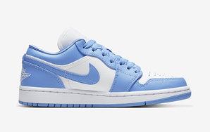 """酷似 Nike SB 联名! Air Jordan 1 Low """"UNC"""" 首度曝光"""
