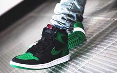 黑绿配色质感非凡,Air Jordan 1 全新配色月底发售