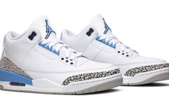 """實物細節照曝光! Air Jordan 3 """"UNC"""" 三月登場"""