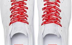 串标鞋带加持!这次的 Supreme x Nike Air Force 1 你会买账吗?