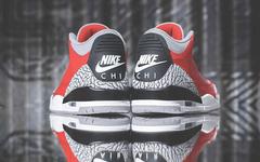 """后天海外发售!芝加哥限定 Air Jordan 3 """"红水泥""""心动了没"""