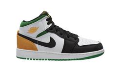小清新风格新配色!这双 Air Jordan 1 Mid 你喜欢吗?