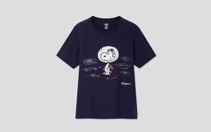 玩味印花加持!UNIQLO 推出 Snoopy 联乘 T 恤系列