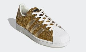 奢華超乎想象!adidas 發布限量 500 雙的 24K 金版 Superstar