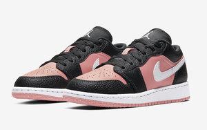 """适合春季上脚!小姐姐专属 Air Jordan 1 Low  """"Pink Quartz"""" 即将登场"""
