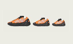 """国内发售信息释出!Yeezy Boost 700 MNVN """"Orange""""下月发售!"""