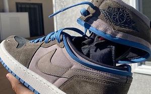 可拆卸鞋帮也太酷了!全新 Air Jordan 1 首度曝光!