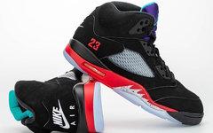 """外观表现相当出众! Air Jordan 5 """"Top 3"""" 绝了!"""