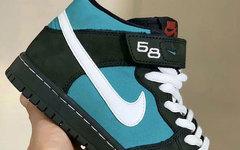 """人气配色灵感!全新 Nike SB Dunk Mid """"Griffey"""" 气质不俗"""