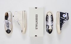 市价 2000 +! Fear of God Essentials x Converse 联名即将补货