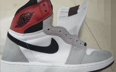 "天价 Union x Air Jordan 1 反转版?全新 AJ 1 ""Light Smoke Grey"" 首次曝光"